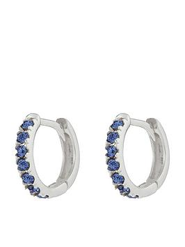 Accessorize Accessorize St Huggie Hoop Earrings - Blue Picture