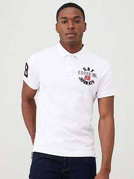 Superdry Superdry Classic Superstate Polo Shirt - White Picture
