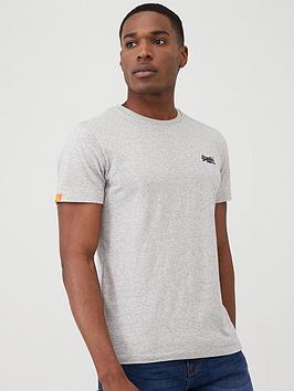 Superdry Superdry Orange Label Vintage Embroidery T-Shirt - Grey Picture