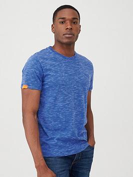 Superdry Superdry Orange Label Vintage Embroidery T-Shirt - Blue Picture
