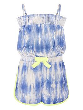Monsoon Monsoon Cassia Tie Dye Playsuit Picture