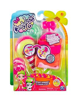 Candylocks Candylocks Doll + Pet - Kiwi Kimmi 7.5Cm Scented Collectable  ... Picture