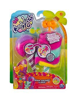 Candylocks Candylocks Doll + Pet - Mina Colada 7.5Cm Scented Collctable  ... Picture