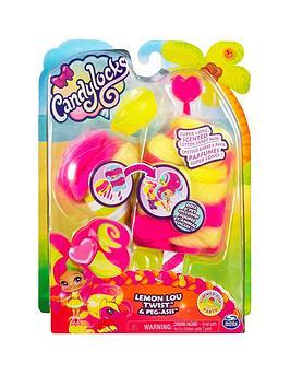 Candylocks Candylocks Doll + Pet - Lemon Lou Twist 7.5Cm Scented  ... Picture