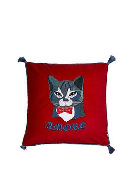 river-island-amore-cat-cushion