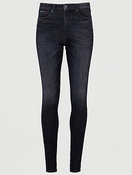 Tommy Jeans Tommy Jeans Sylivia High Rise Super Skinny - Charcoal Picture