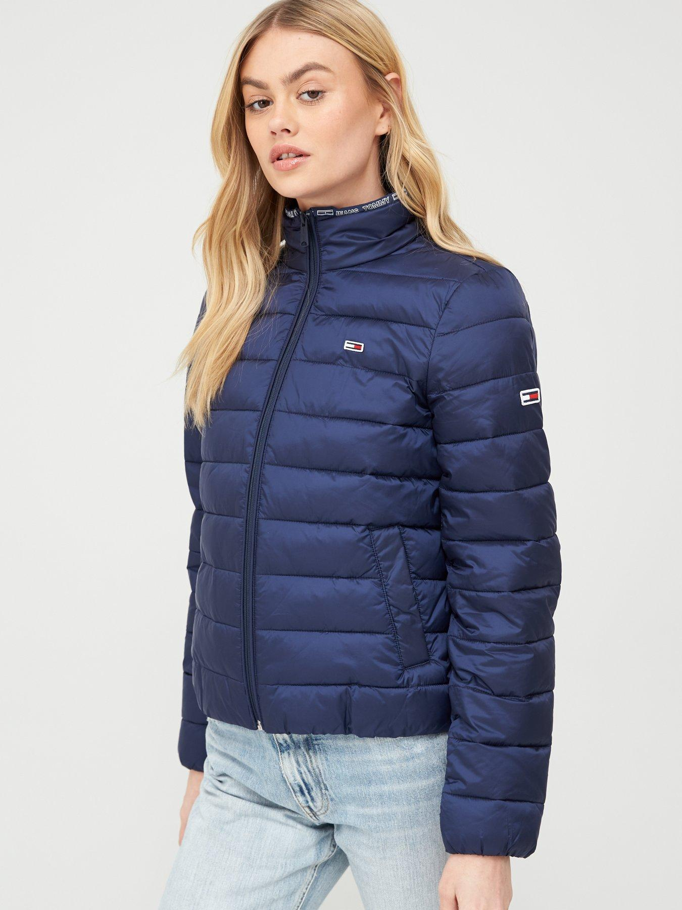 Tommy Jeans Femme Quilted Zip Thru Blouson
