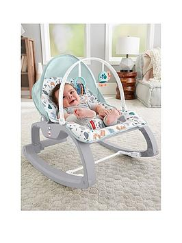 Fisher-Price Fisher-Price Deluxe Infant-To-Toddler Rocker Picture