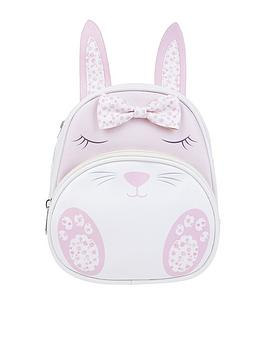 Monsoon Monsoon Girls Bunny Bow Backpack - Pink Picture
