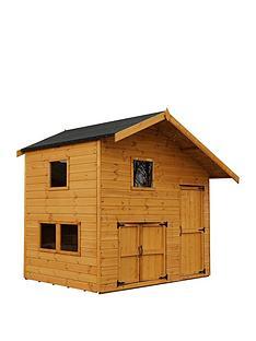 mercia-8x6-garage-double-story-playhouse
