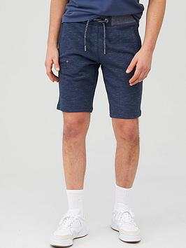Superdry Superdry Orange Label Classic Jersey Shorts - Navy Picture