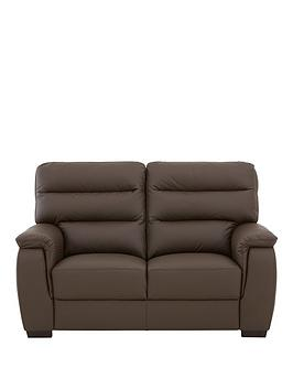 Very Columbus Leather 2 Seater Sofa Picture