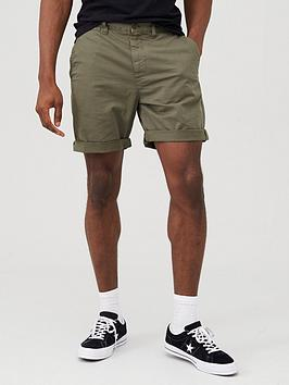 Superdry Superdry International Chino Shorts - Olive Picture