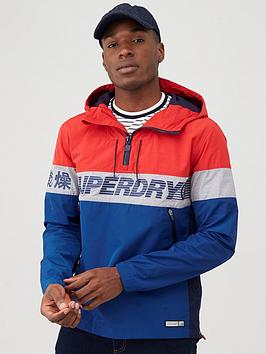 Superdry Superdry Ryley Overhead Jacket - Red Picture