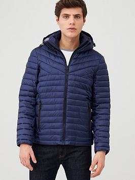 Superdry Superdry Desert Alchemy Fuji Padded Jacket - Navy Picture