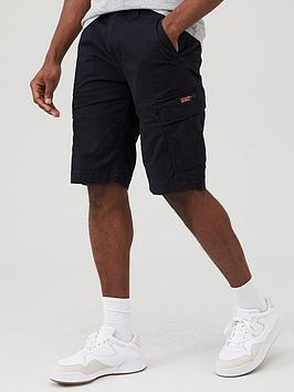 Superdry Superdry Core Cargo Shorts - Black Picture