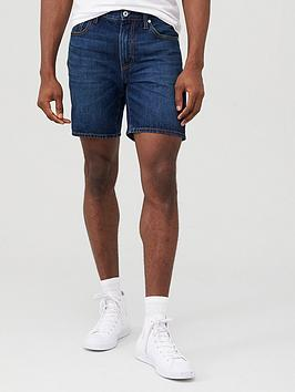 Superdry Superdry 05 Conor Tapered Denim Shorts - Dark Blue Picture