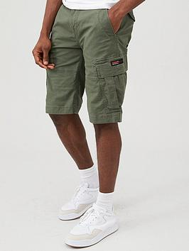 Superdry Superdry Core Cargo Shorts - Olive Picture