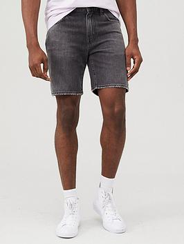 Superdry Superdry 05 Conor Taper Denim Shorts - Black Picture