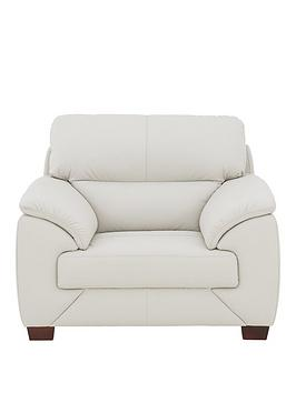 Very Harris Leather Armchair Picture
