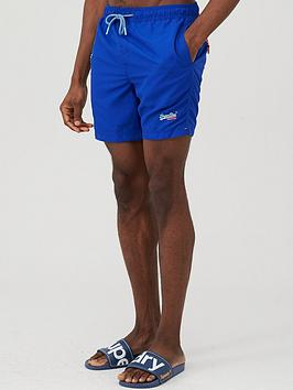 Superdry Superdry Waterpolo Swim Shorts - Blue Picture