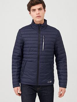 Superdry Superdry Packaway Fuji Padded Jacket - Navy Picture