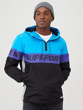 Superdry Superdry Ryley Overhead Jacket - Electric Blue Picture