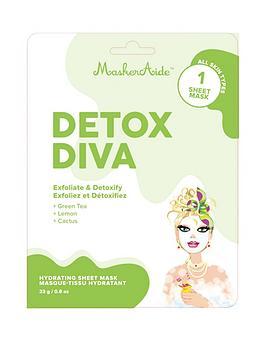 MASKERAIDE Maskeraide Detox Diva- Hydrating Sheet Mask Picture