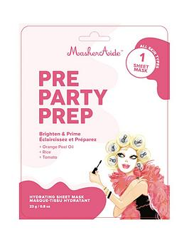 MASKERAIDE Maskeraide Pre Party Prep - Hydrating Sheet Mask Picture
