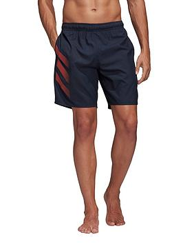 Adidas   Bos 3S Swim Shorts - Ink