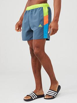 adidas-colourblock-clx-swim-shorts-blue