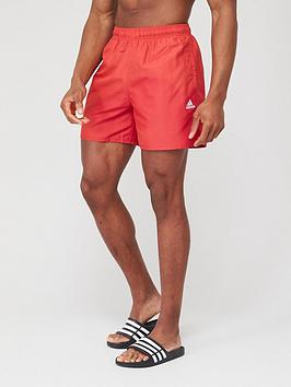 Adidas Adidas Solid Clx Shorts - Red Picture