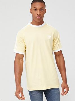 adidas Originals  Adidas Originals 3 Stripes T-Shirt - Yellow