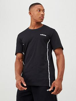 adidas-essential-matmix-t-shirt-black