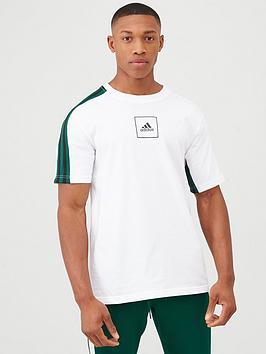adidas-3-stripe-tape-t-shirt-white