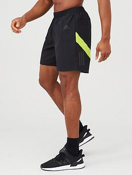 Adidas Adidas Own The Run Shorts - Black Picture