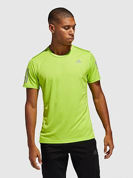 Adidas Adidas Own The Run T-Shirt - Green Picture