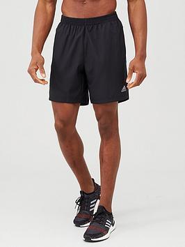 Adidas Adidas Run It 3S Shorts - Black Picture