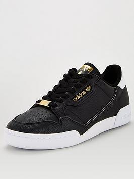 adidas Originals  Adidas Originals Continental 80 - Black/White