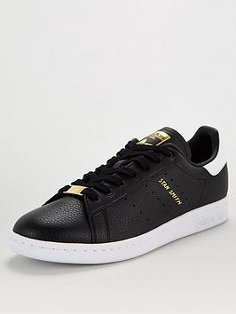 adidas Originals Adidas Originals Stan Smith - Black/White/Gold Picture