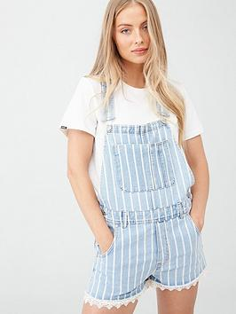 Superdry Superdry Dungaree Lace Boyshort - Blue Picture