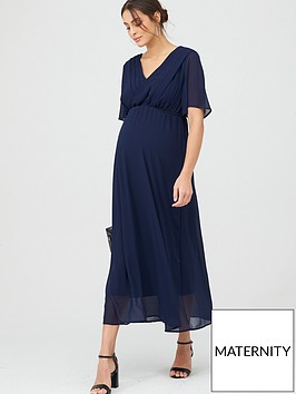 mama-licious-maternity-maxi-occasion-dress-with-hidden-nursing-function-navy