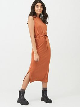 Superdry Superdry Desert Drawstring Midi Dress - Olive Picture