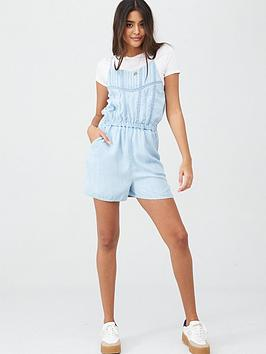 Superdry Superdry Indie Lace Cami Playsuit Picture