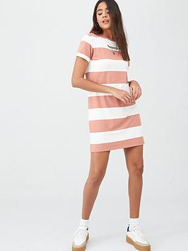 Superdry Superdry Darcy Striped T-Shirt Dress - Stripe Picture