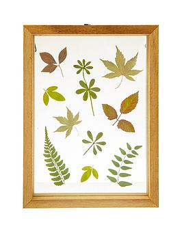 Sass & Belle Sass & Belle Herbarium Leaves Floating Frame Picture