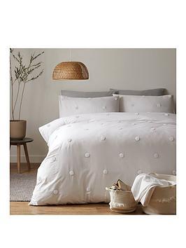 Appletree Appletree Dot Garden Duvet Cover Set In White Picture