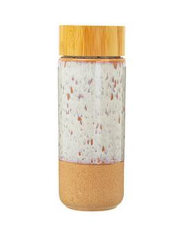 Sass & Belle Sass & Belle White Glaze Ceramic Bottle Picture