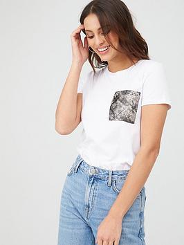 v-by-very-snake-pocket-t-shirt-white