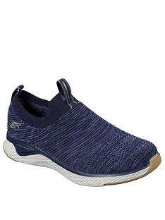 skechers-solar-fuse-trainers-navy